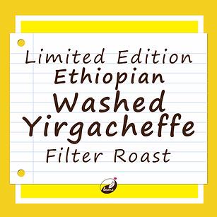 Washed Ethiopian Yirgacheffe