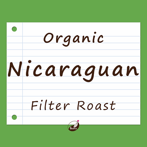 Nicaraguan Fair Trade Organic | Single Origin Coffee Beans | Dairy Beanz Coffee Roasters | New Zealand