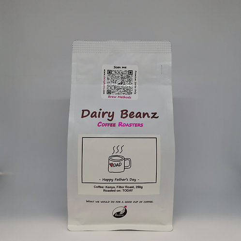 Father's Day Gifts  NZ | Dad's Filter Roast Coffee | Dairy Beanz