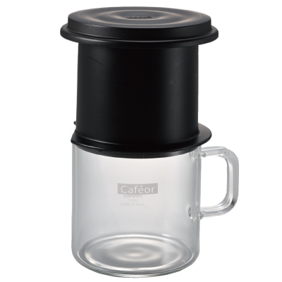 "Hario One Cup ""Cafeor"" Filter Dripper Set 