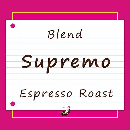 Supremo Espresso Coffee Beans | Dairy Beanz Coffee Roasters | New Zealand