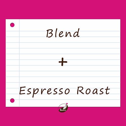 Plus Espresso Coffee Blend | Dairy Beanz Coffee Roasters | New Zealand