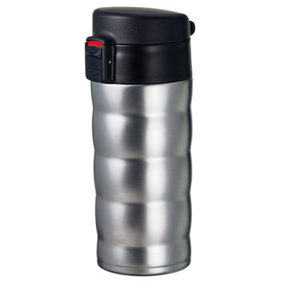 Hario V60 Soto Travel Mug Silver | Dairy Beanz Coffee Roasters | New Zealand