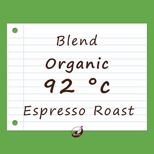 92°c Organic Espresso Coffee Blend | Dairy Beanz Coffee Roasters | New Zealand