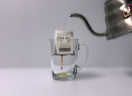 Drip Bag Coffee - New Style with the Pour Over brewing method
