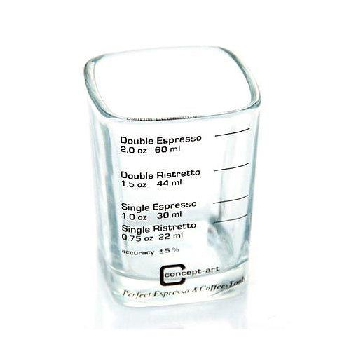 Barista Shot Glass - 60ml - Coffee Accessories - Barista Tools   Dairy Beanz Coffee Roasters   New Zealand