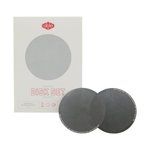 Stainless Able Disk Set For Aeropress | Dairy Beanz Coffee Roasters | NZ