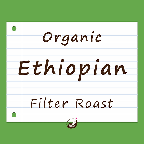 Ethiopian Organic Single Origin Coffee Beans | Dairy Beanz Coffee Roasters | New Zealand