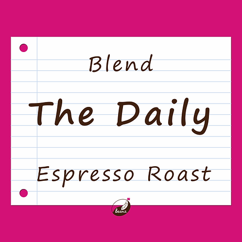 The Daily Espresso Coffee Blend | Dairy Beanz Coffee Roasters | New Zealand