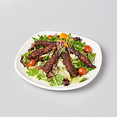 BEEF WRAPPED STRING BEAN SALAD