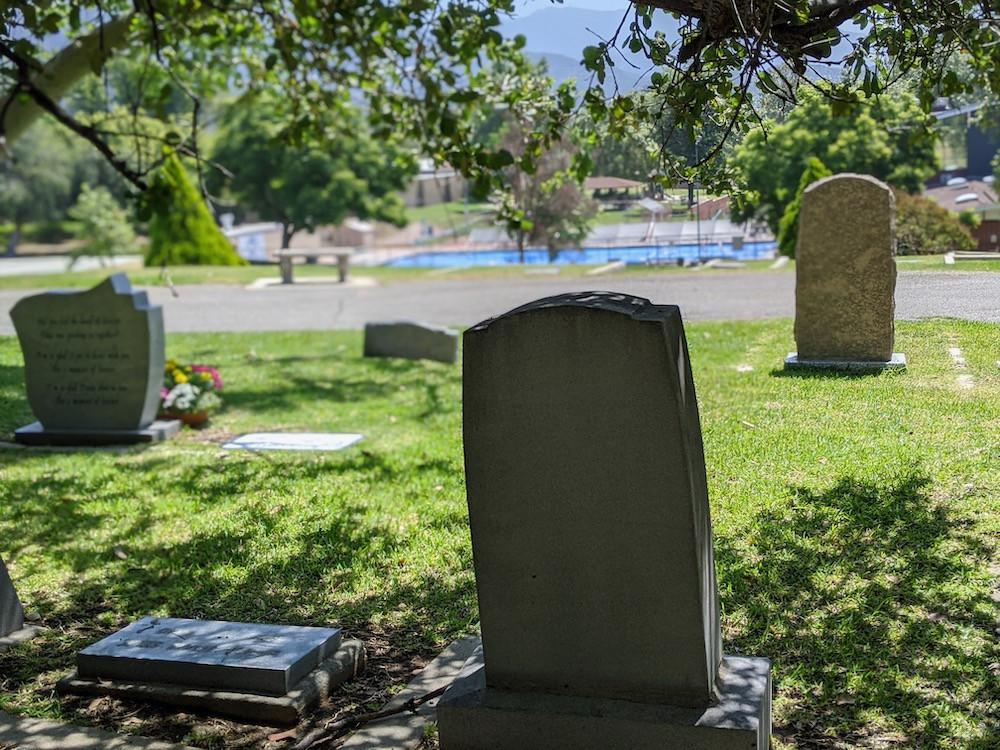 Cemetery heastones