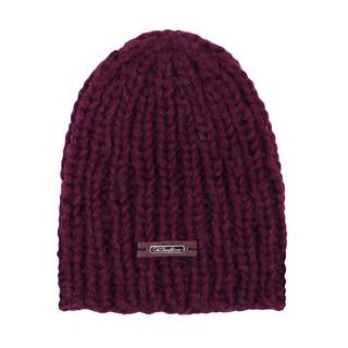 czapka bordo
