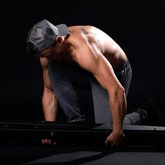 siłownia  sesja fotograficzna