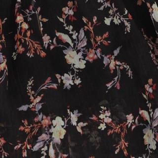 sukienka z falbanami w drobne kwiatki 2