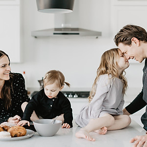 Winter Morning Family Photoshoot