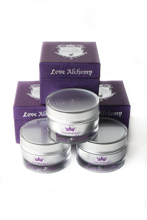 Love Lotion 3-pack of 50ml/1.7oz jars