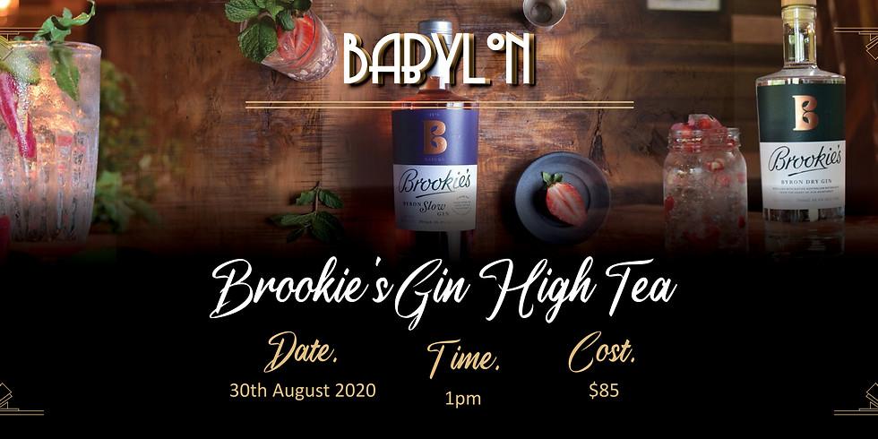 Brookies Gin High Tea