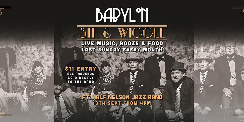 Sit & Wiggle with Half Nelson