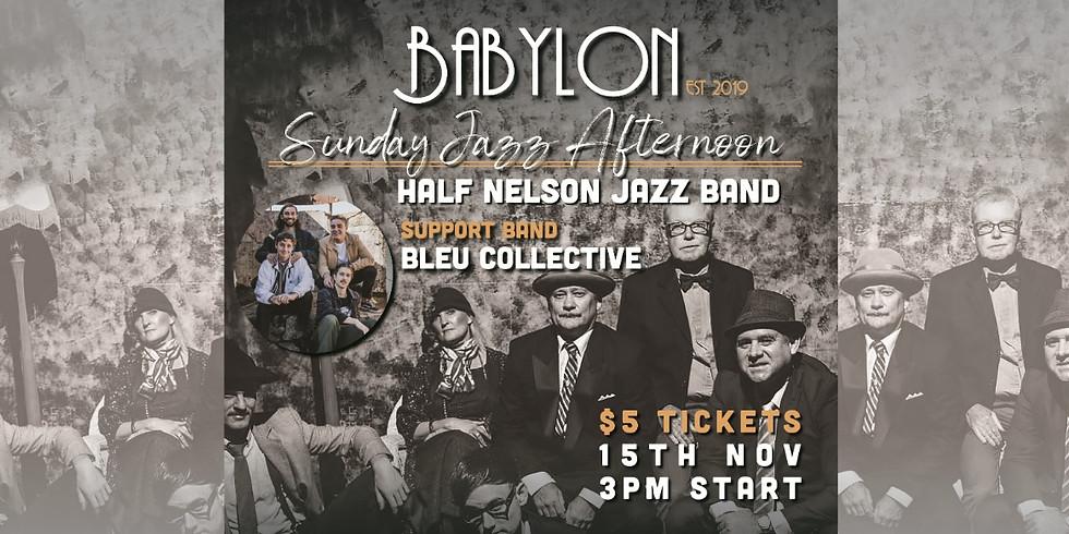 Sunday Jazz with Half Nelson &