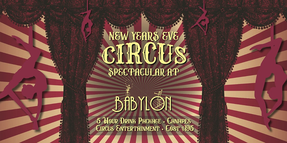 New Years Eve Circus Spectacular