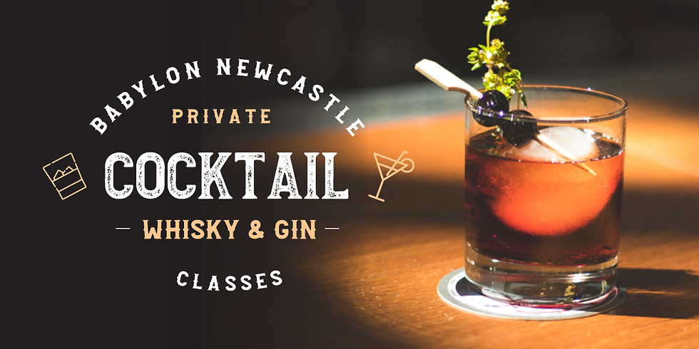 Private Cocktail, Whisky or Gin Classes
