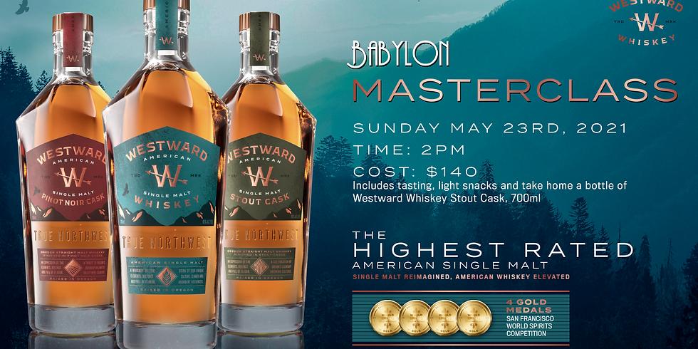Westward American Whiskey Masterclass