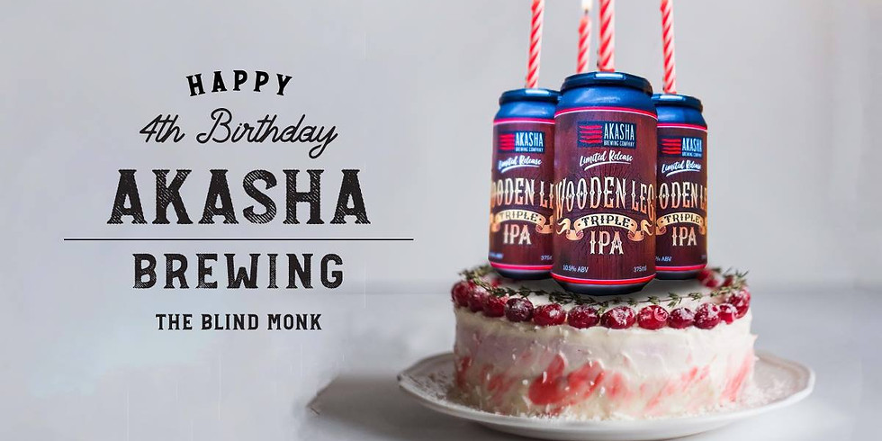 Akasha Brewing's 4th Birthday