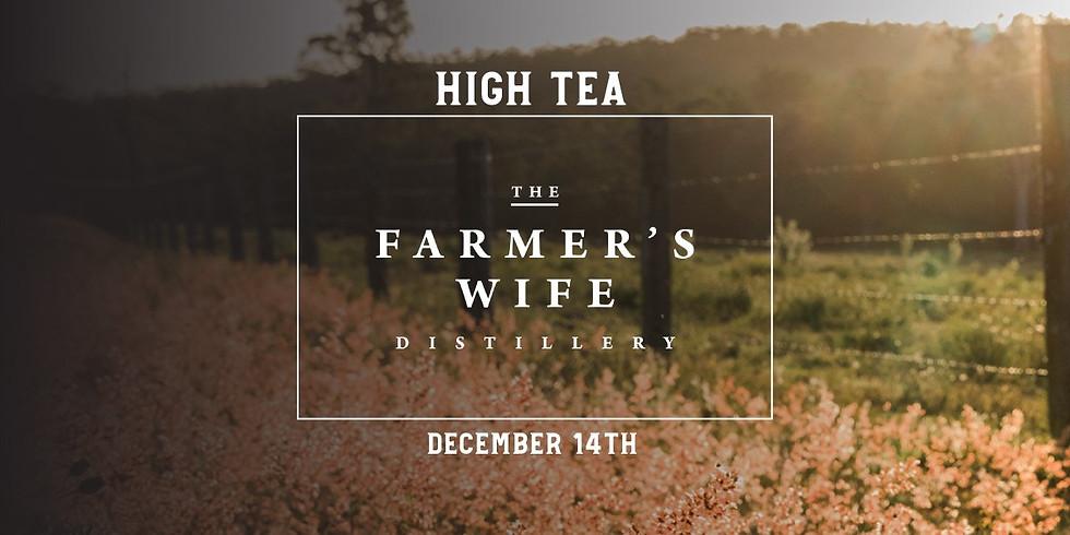 Farmers Wife Gin High Tea