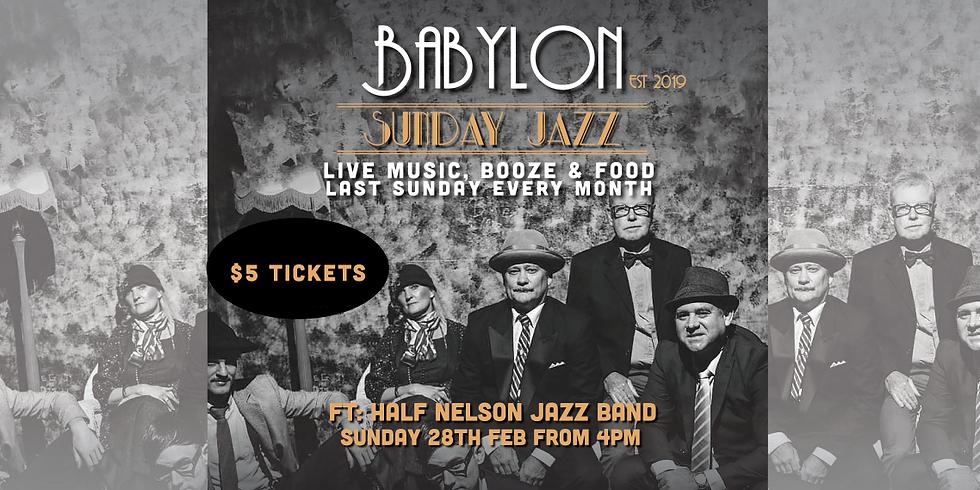 Sunday Jazz Ft Half Nelson