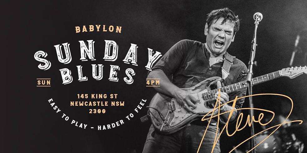 Sunday Blues Launch ft. Steve Edmonds Blues Quartet
