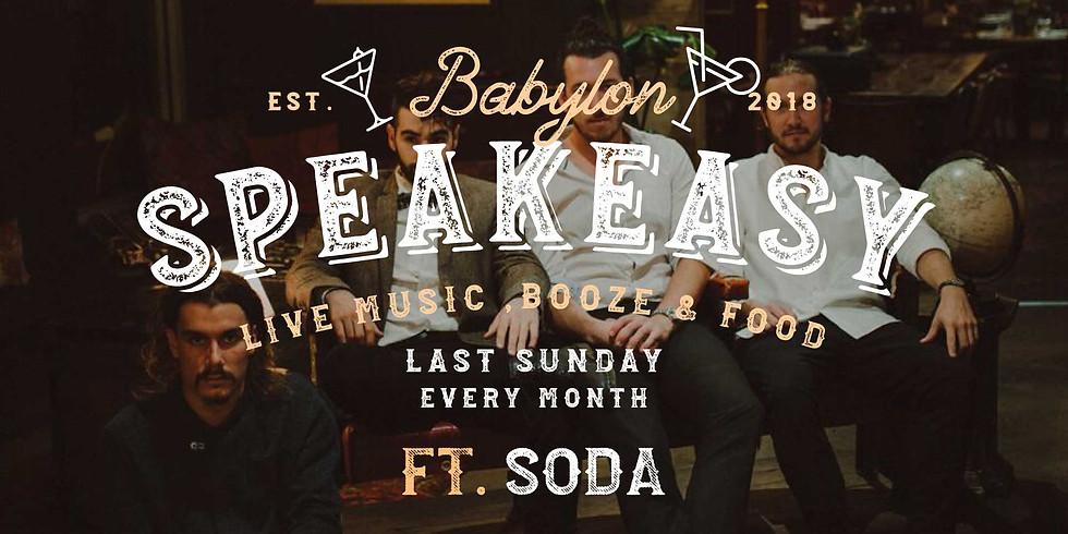 Speakeasy Sunday - Soda Band