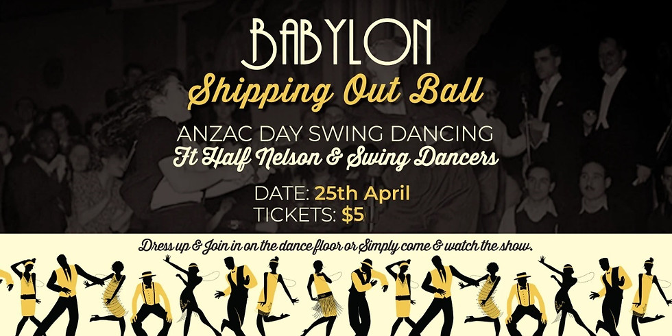 Anzac Day with Half Nelson & Swing Dancers