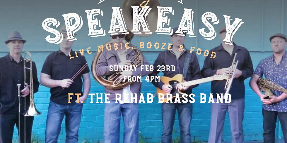 Speakeasy Sunday - The Rehab Brass Band