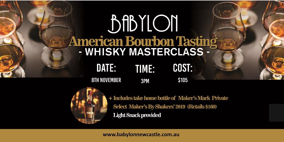 American Bourbon Masterclass