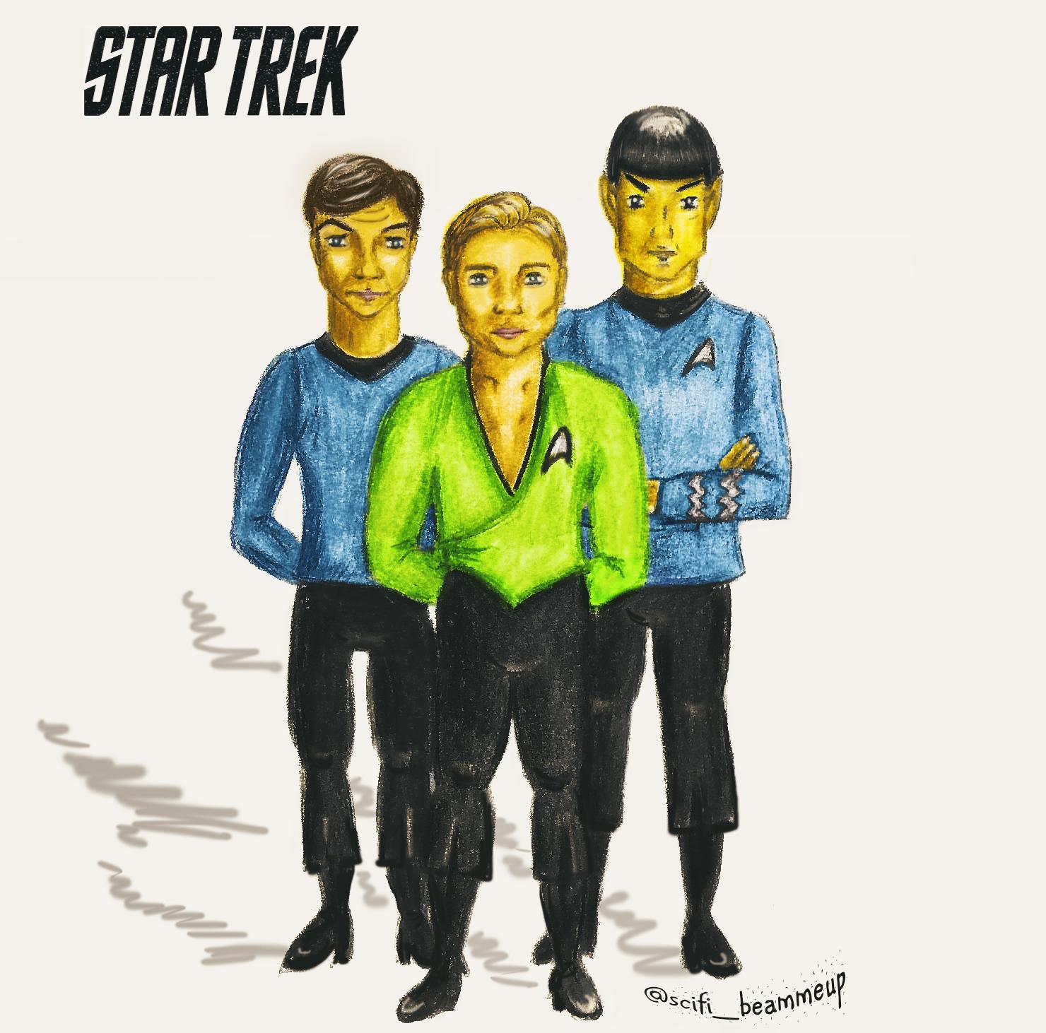 Spock, McCoy, Kirk