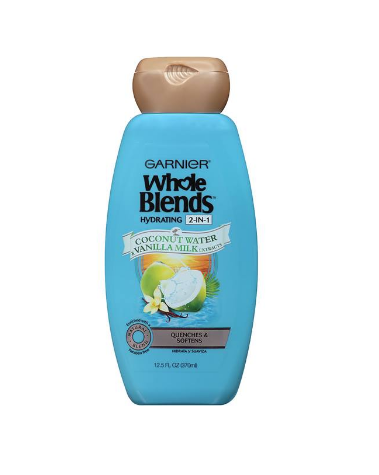 Hydrating 2-in-1 Shampoo with Coconut Water & Vanilla Milk extracts