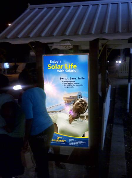 Solaris Bus Shelter