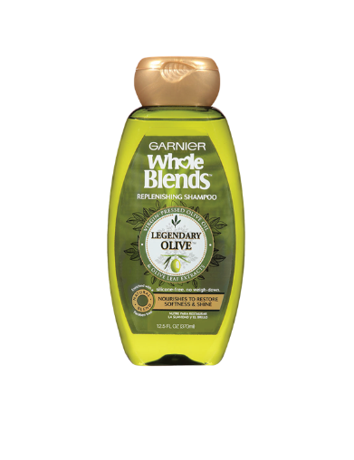 Replenishing Shampoo with Virgin-Pressed Olive Oil & Olive Leaf Extracts