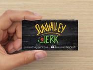 Sunvalley Jerk Business Card