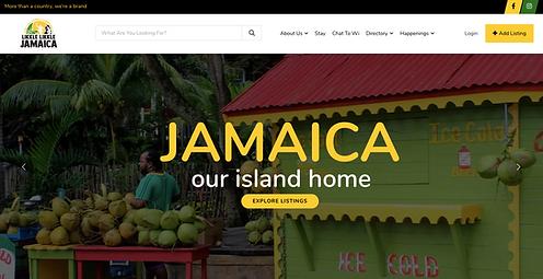 Likkle Likkle Jamaica Website
