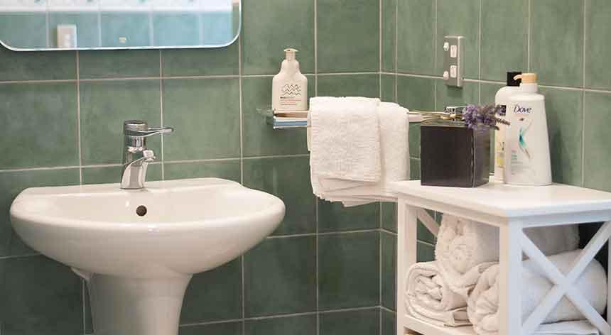 Close up of Bathroom sink