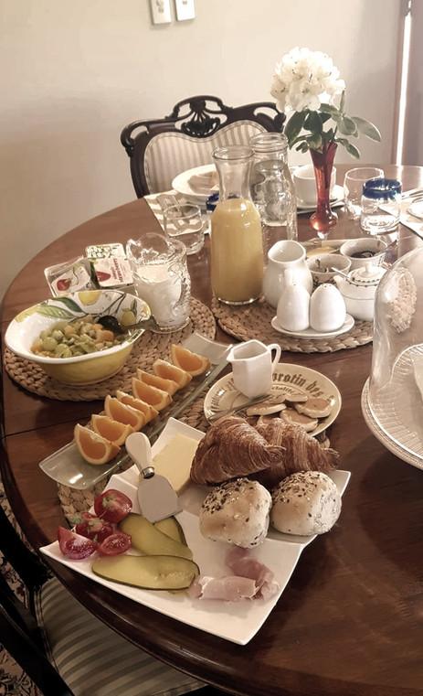 Breakfast at St James Bed & Breakfast