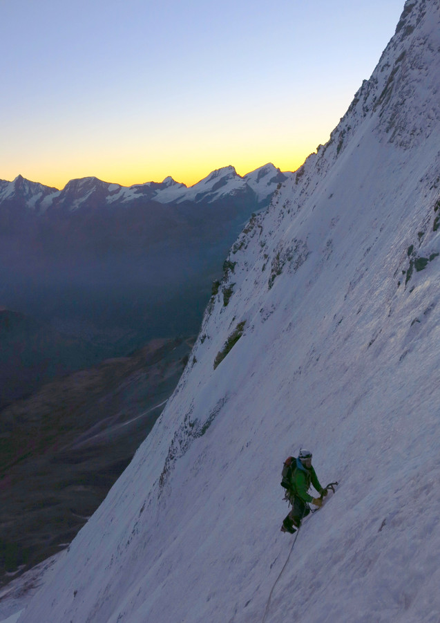 Schmidt Route, Matterhorn