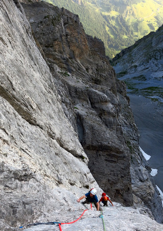 NW Face, Kingspitze