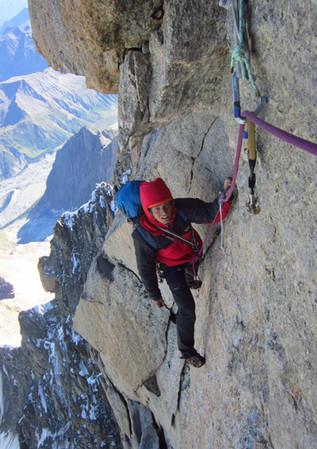 Freney Pillar, Mont Blanc