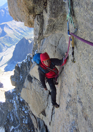 Freney Pillar, Mont Blanc