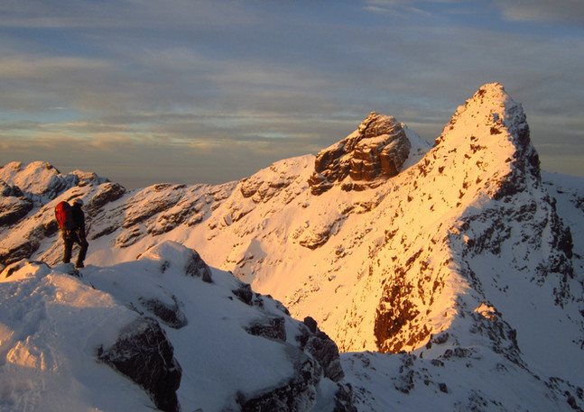 Cuillin Ridge Winter Traverse, Skye