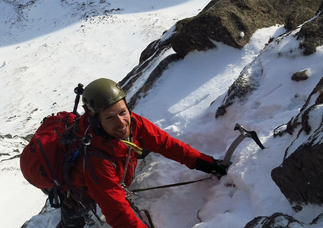 Afterthought Arete, Cairngorms