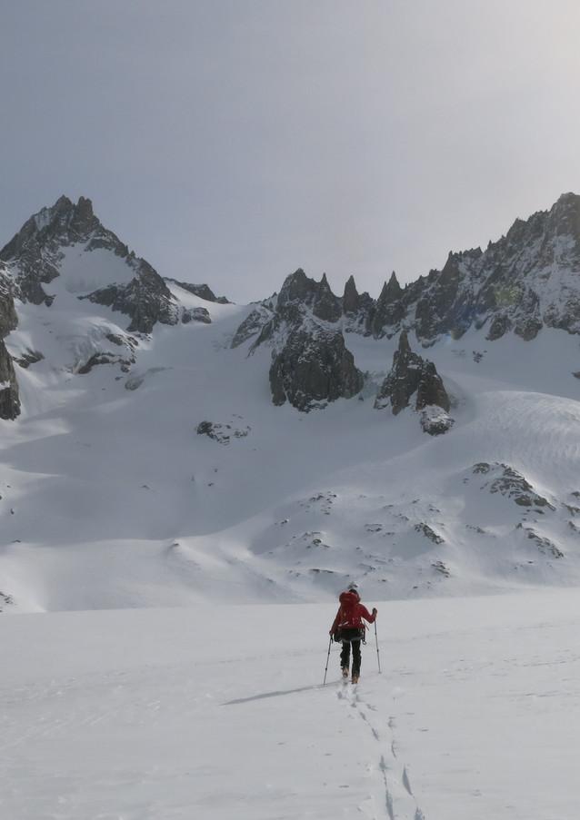 Argentiere Glacier, Chamonix