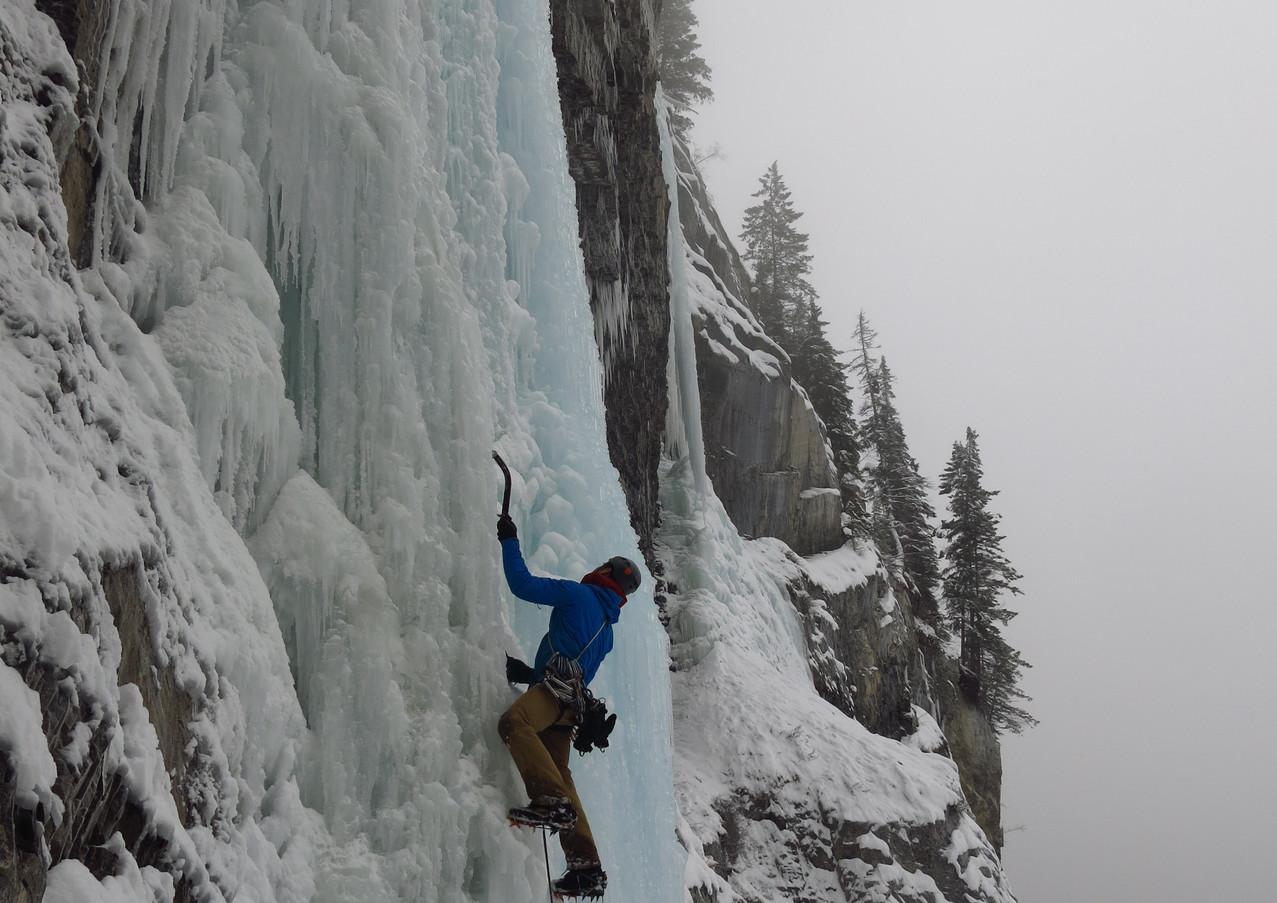 Carlsberg Column, Canadian Rockies